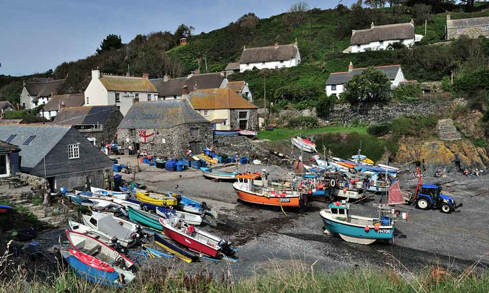 Cadgwith Main Page